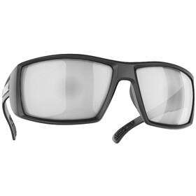 Bliz Drift Polarized Glasses, matt black/brown with silver mirror